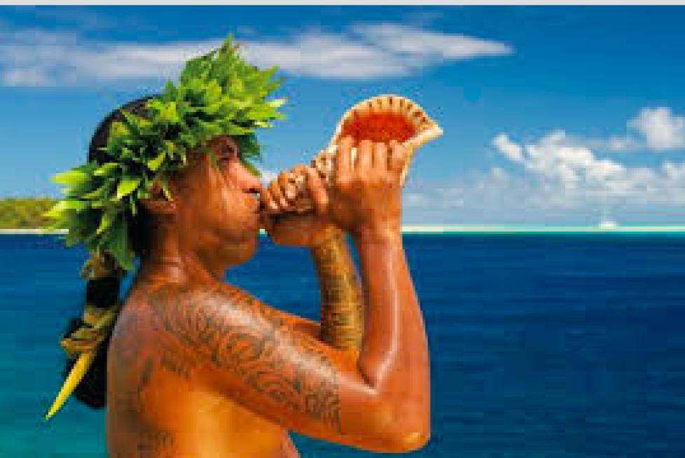 Kurs mod eventyret i Stillehavet.